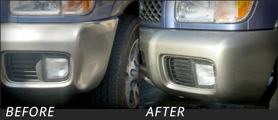 Paul's Pathfinder bumper repair san diego